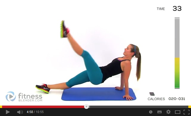 fitness blender brzuch